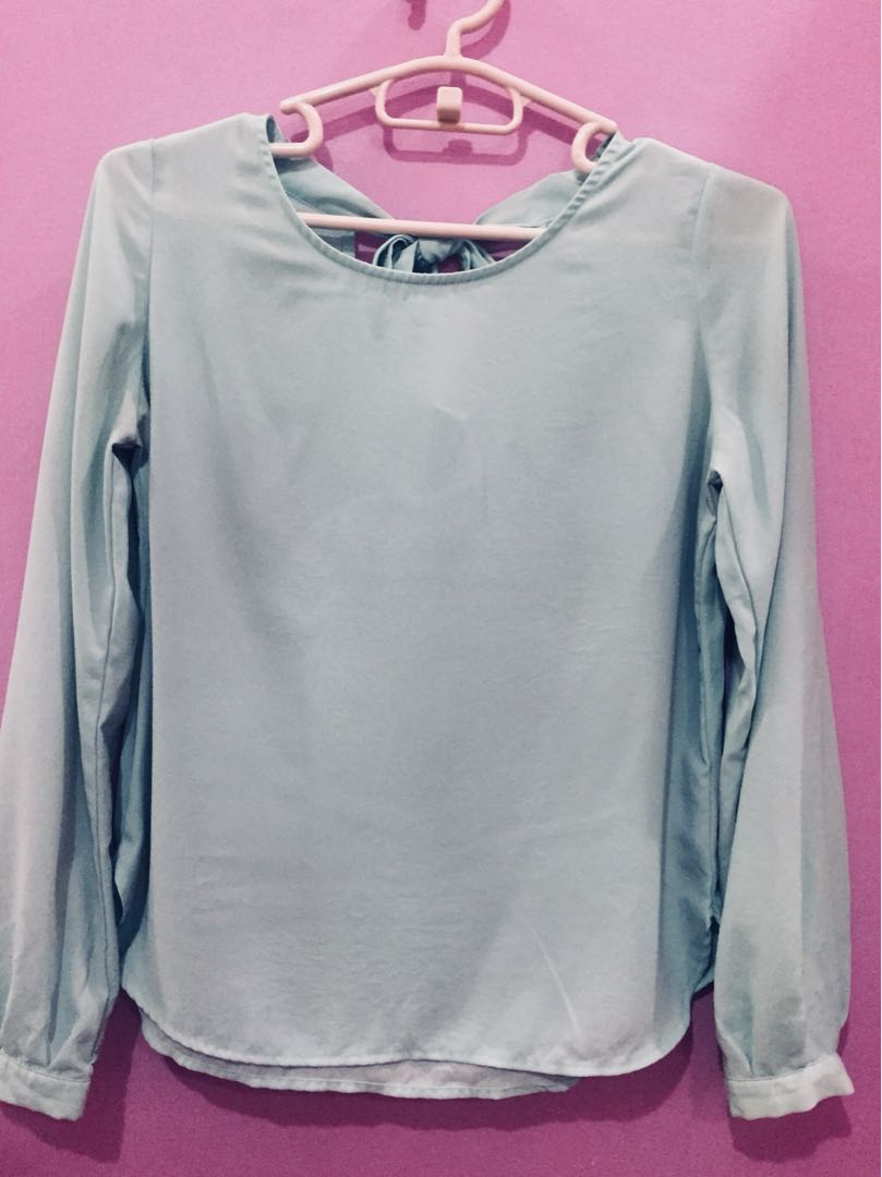 ea724ca489e0 Forever 21 F21 Top in Mint Green
