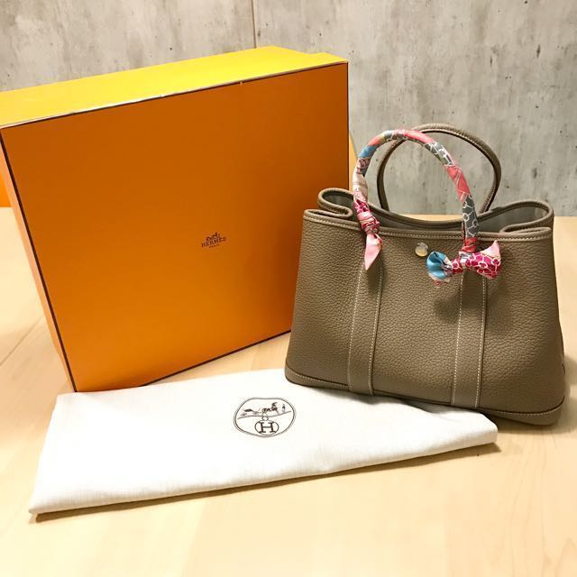 Hermes Garden Party 30 Luxury Bags Wallets On Carousell