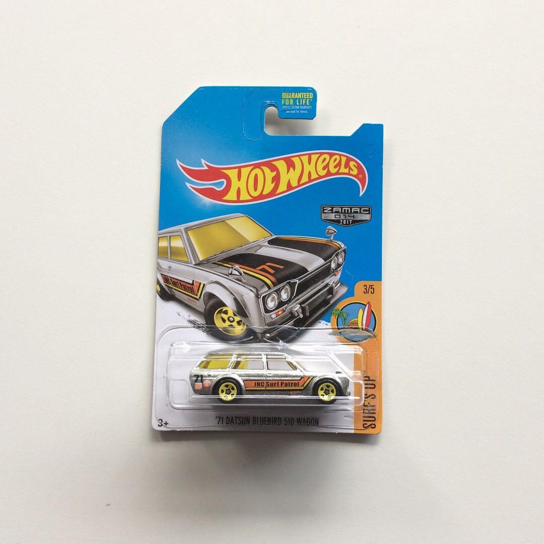 Hot Wheels Datsun Bluebird 510 Zamac Wagon Us Card Toys Other On Carou