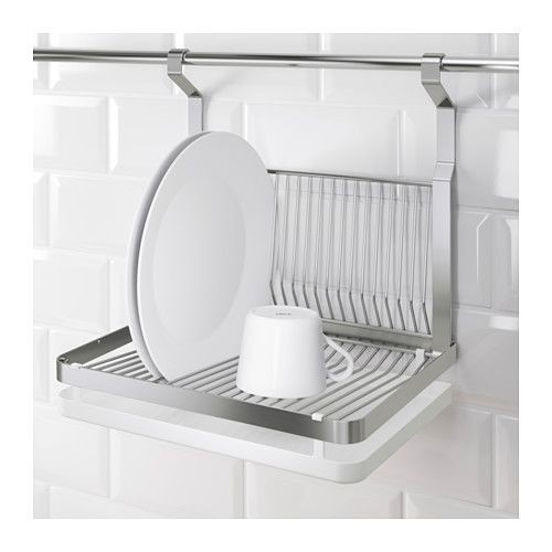 Plate drying rack Vertical Ikea Grundtal Kitchen Dish Plate Drying Rack Home Appliances On Carousell Kitchen Appliances Tips And Review Kitchen Dish Drying Rack Ikea Kitchen Appliances Tips And Review