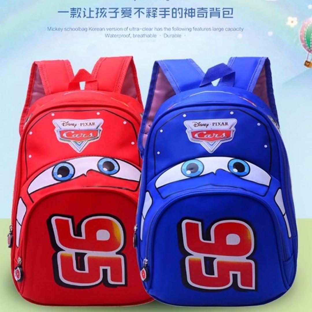 db1b64505b FREE mail INSTOCK BN 3D Cars School Bag Backpack Kids Children ...