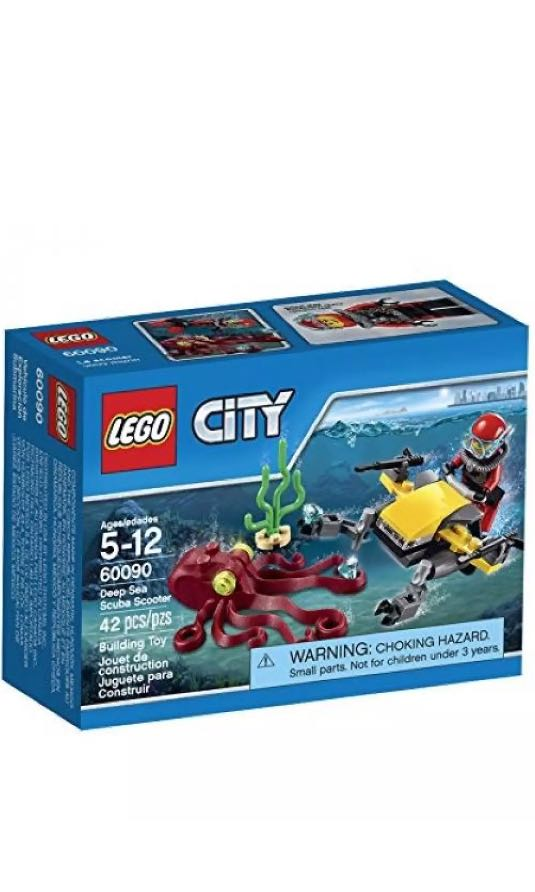 LEGO CITY 60090 Deep Sea Scuba Scooter, Toys & Games, Blocks & Building Toys on Carousell