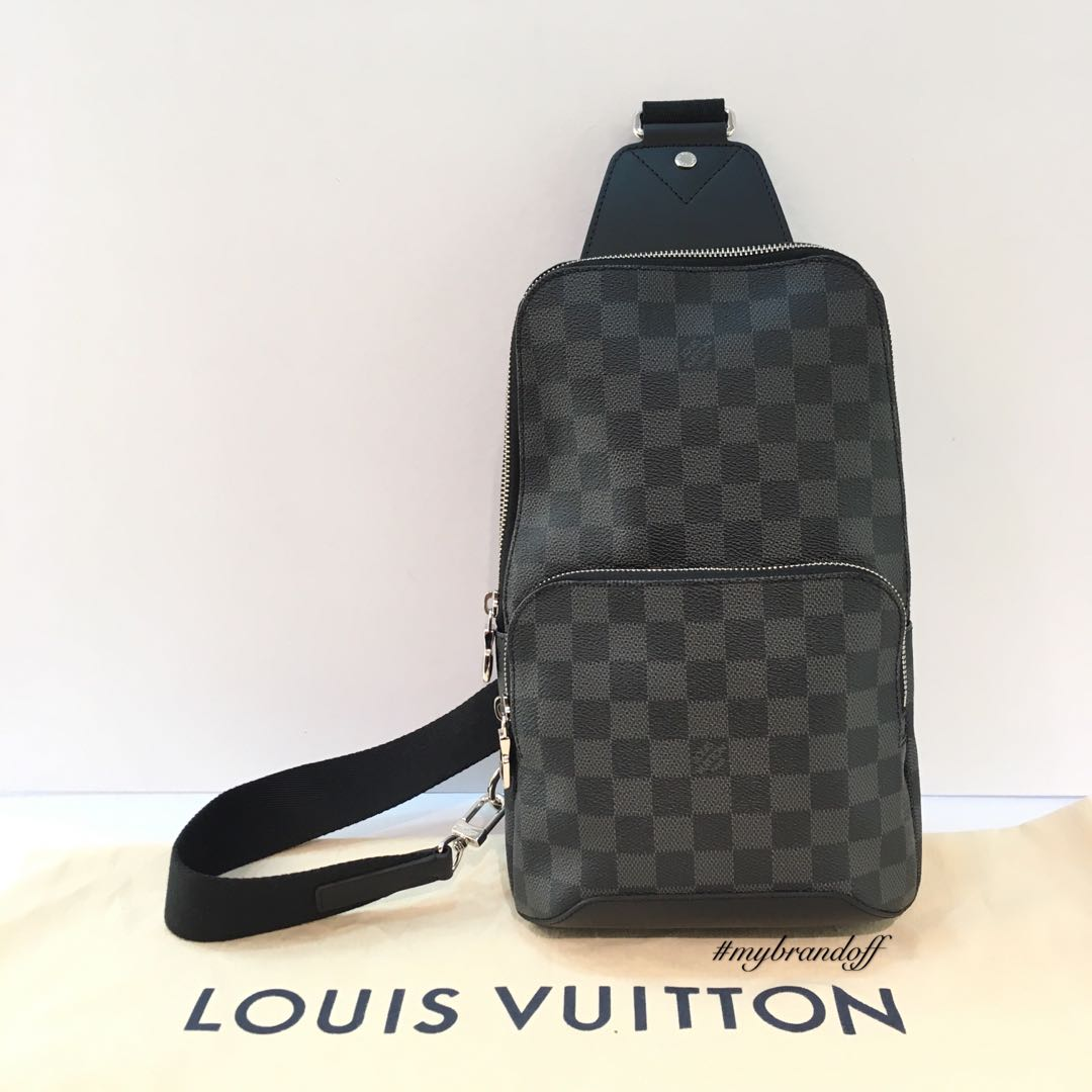 6063bcd61d20 LV Avenue Sling Bag