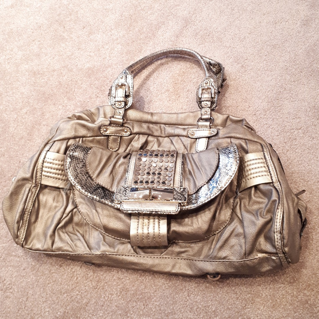 Marciano leather bag