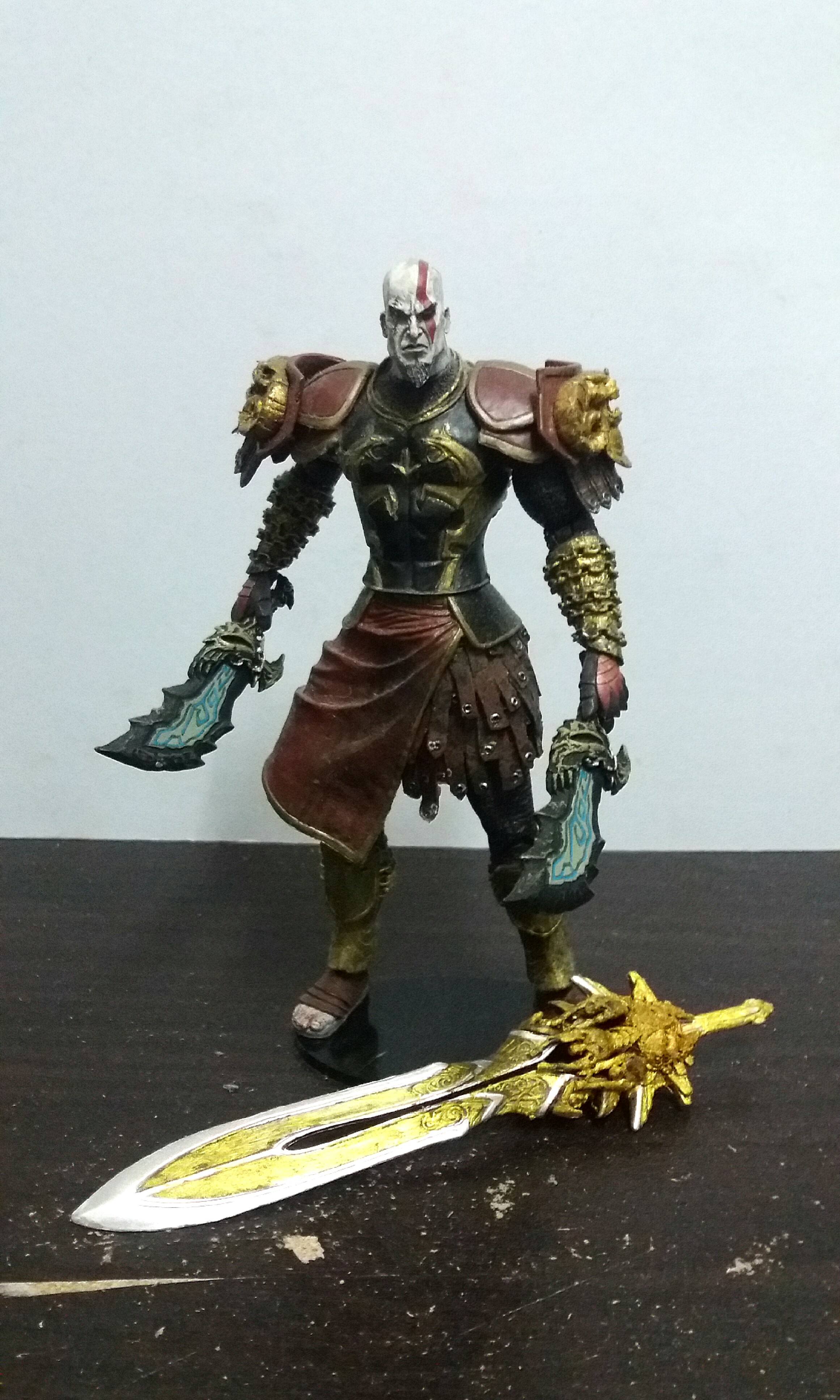 NECA God of War Kratos with Ares Armor on Carousell