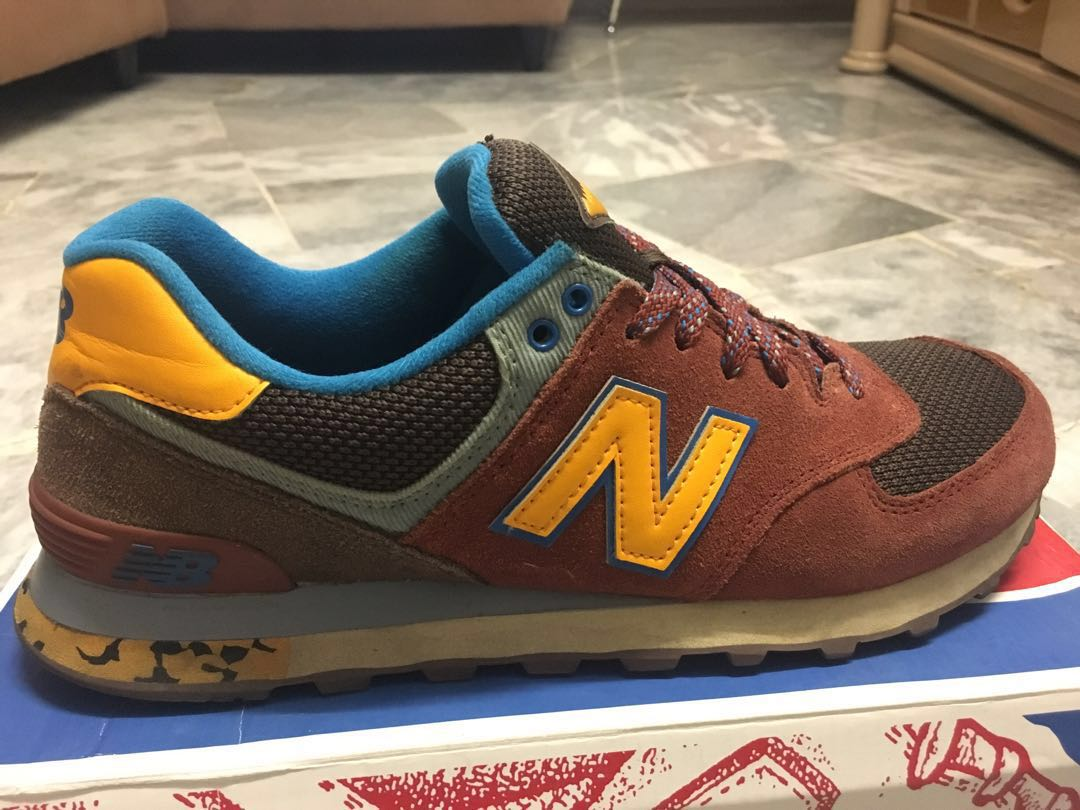 low cost f5a54 3cf86 New Balance 574 Brown Color
