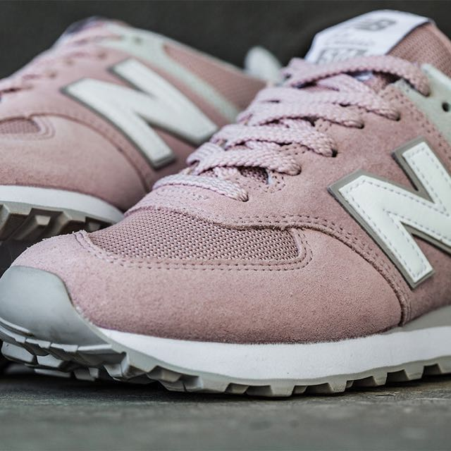 competitive price 3bb19 cff76 New balance 574 pastel pink, Women's Fashion, Shoes on Carousell