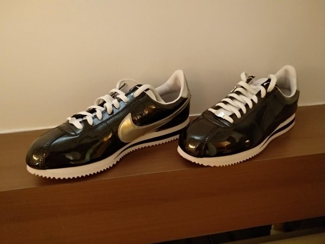 info for d5727 07448 Nike Cortez limited patent leather black, Men's Fashion ...
