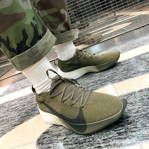 c0a0c8e631 Nike React Vapor Street Flyknit - Olive Green, Men's Fashion, Footwear on  Carousell
