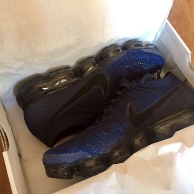 2b02621426ab3 Nike VaporMax Midnight Navy, Men's Fashion, Footwear on Carousell