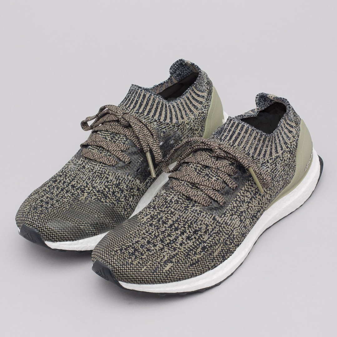 298588226 PO) Adidas Mens Ultra Boost Uncaged Trace Cargo