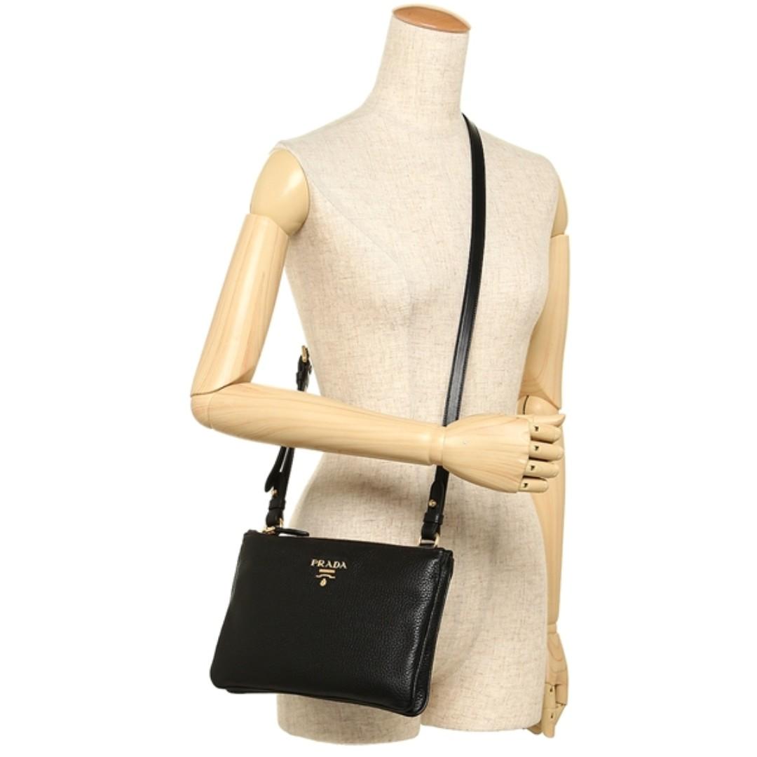 8c4c69bb021b PRADA 1BH046 VITELLO PHENIX LEATHER CROSSBODY BAG, Luxury, Bags & Wallets  on Carousell