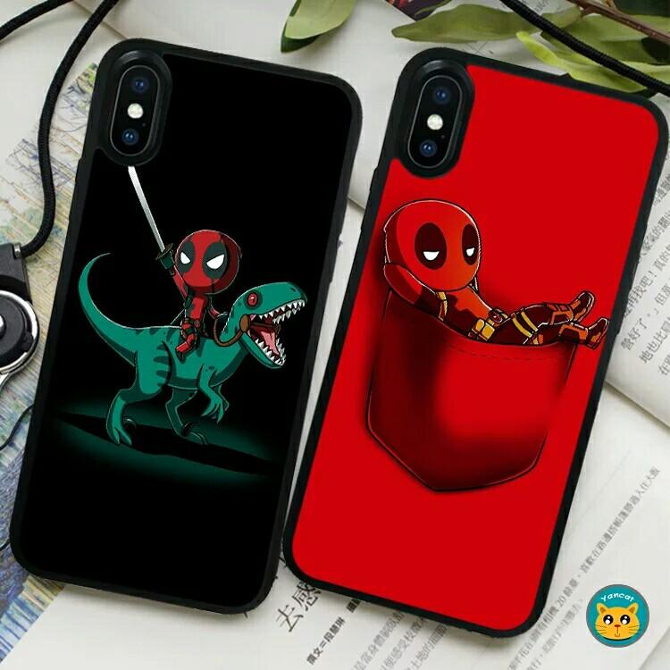 6ed7979dd8 ⚠Pre-order! Cool glass Marvel Deadpool fully wrapped design Hard ...
