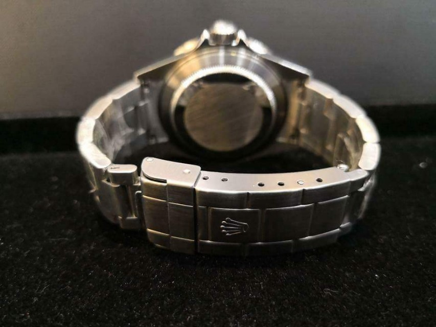 PREOWNED ROLEX SUBMARINER, 16610LN, Steel, 40mm, D Series @ Year 2006 Mens Watch