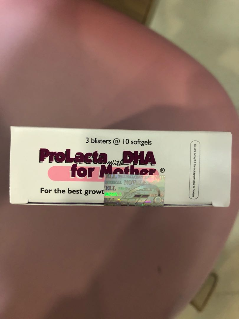... ProLacta with DHA for Mother FISH OIL Babies & Kids Nursing & Feeding on Carousell