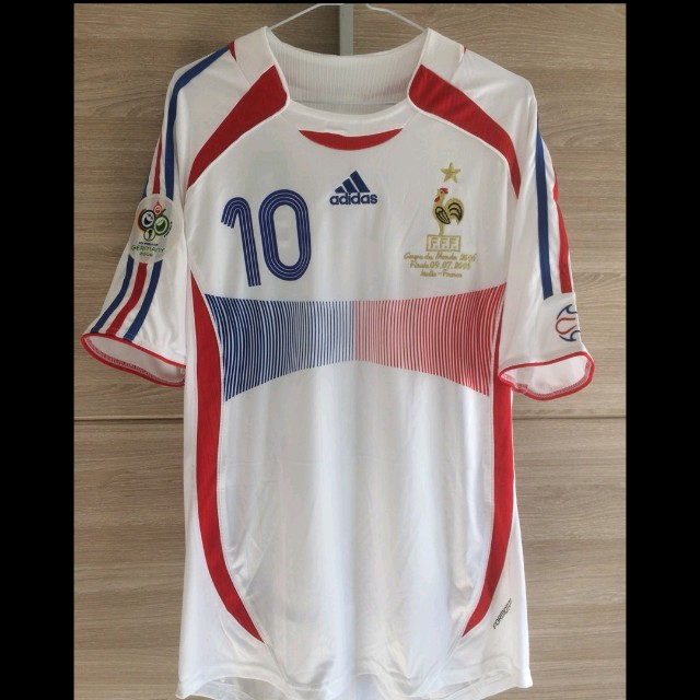 32d61a4ee Retro France 2006 World Cup Final