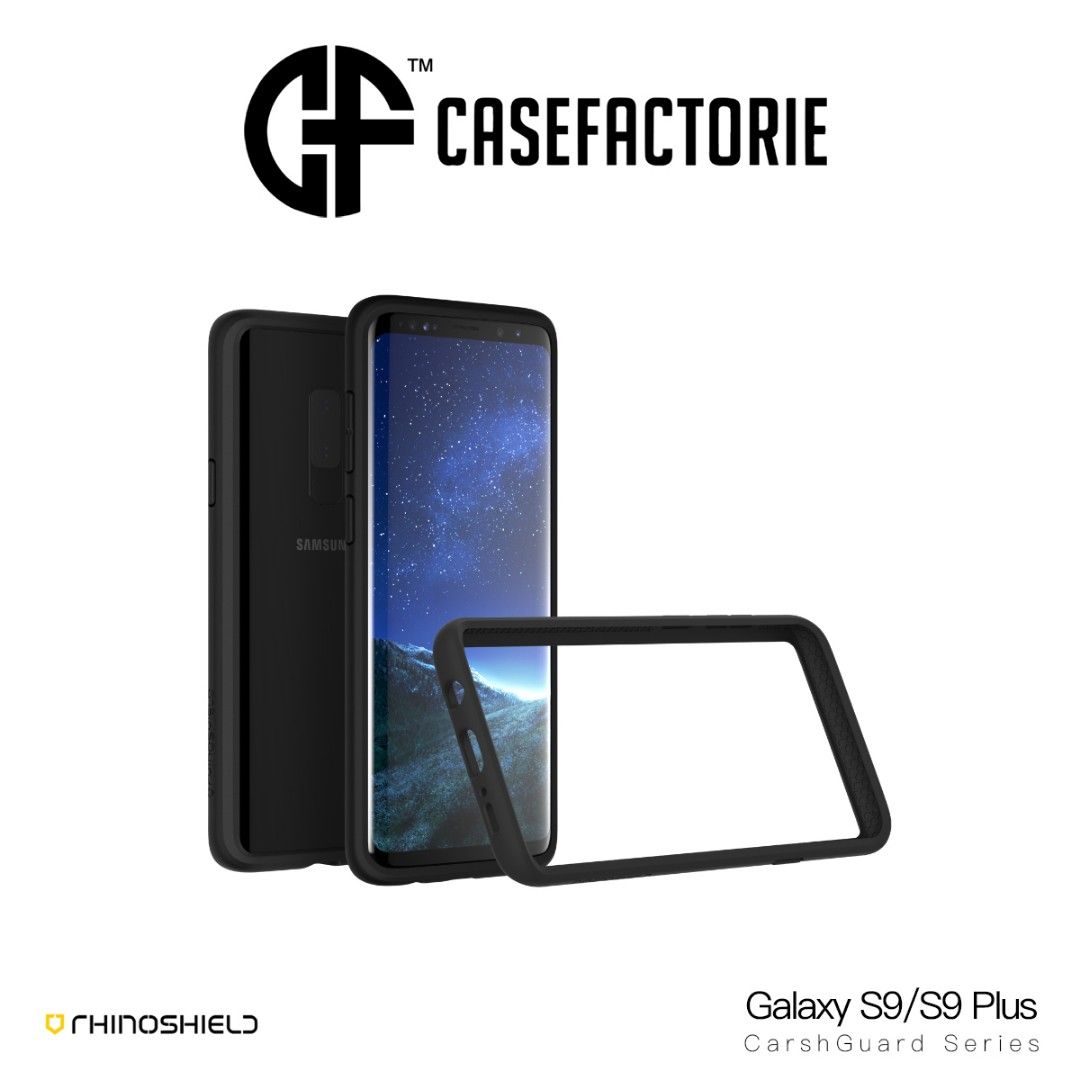 new product af8fb dd05b RhinoShield CrashGuard Galaxy S9 / S9 Plus Bumper Case
