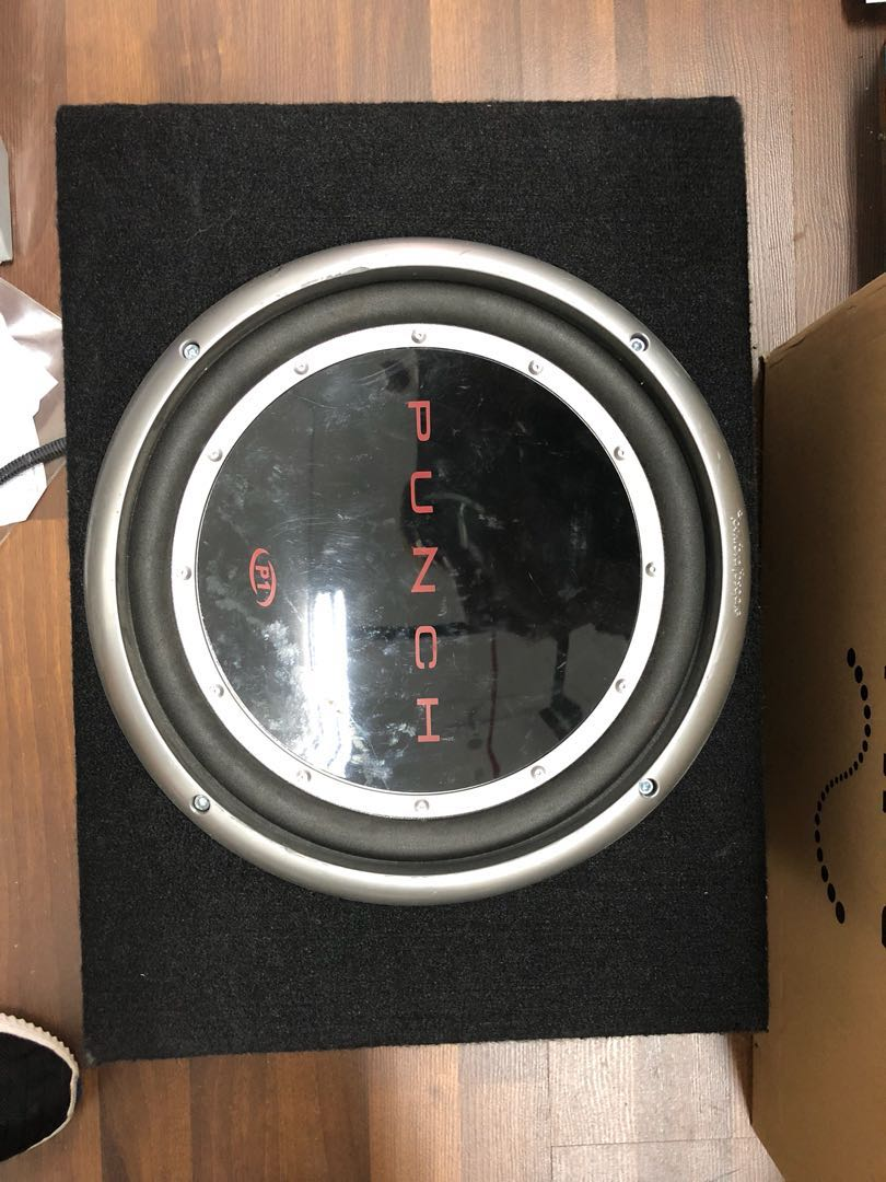 Rockford Fosgate P1 12 Inch Woofer Bass Tube Car Accessories On Carousell
