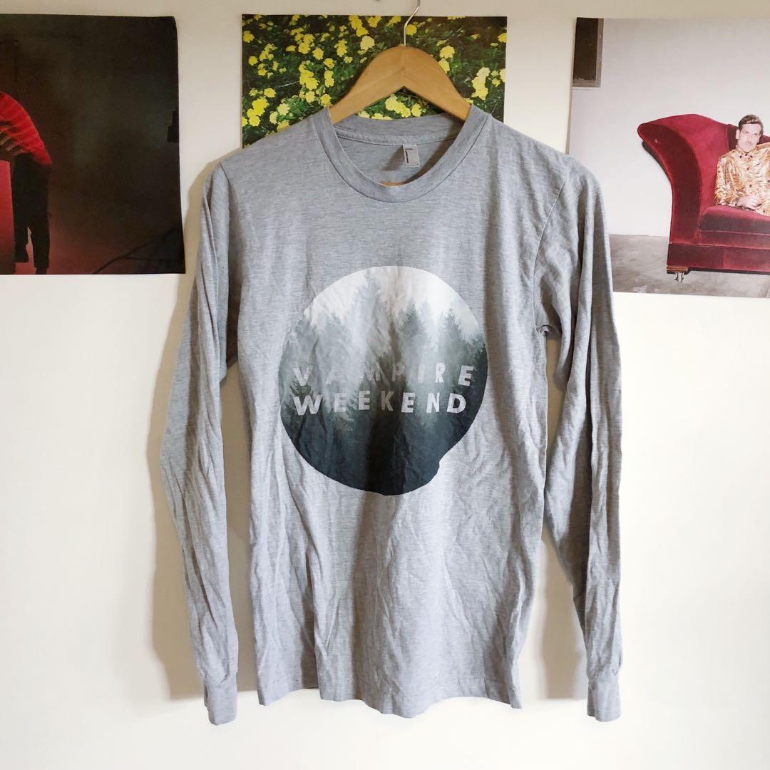 Vampire Weekend long sleeve band shirt