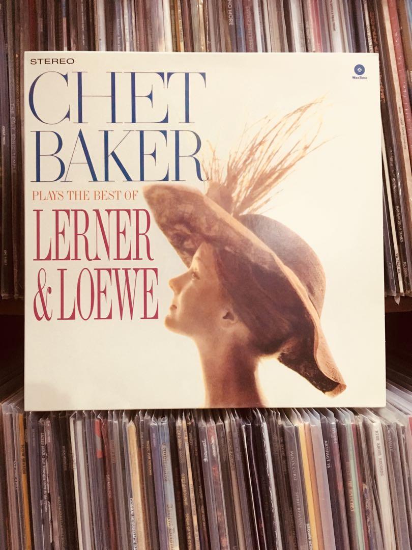 "VINYL - Chet Baker ""Plays The Best Of Lerner & Loewe"" (2015 reissue)"