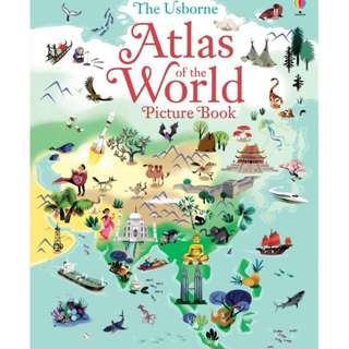 @(Brand New) Atlas of the World Picture Book  By: Sam Baer, Nathalie Ragondet (Illustrator) -  Hardcover