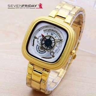 Jam tangan seven friday unisex bisa cw or cwo