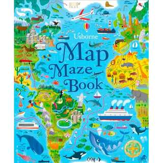 @(Brand New) Map Mazes   By: Sam Smith Paperback