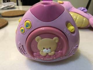 V Tech baby lullaby projector
