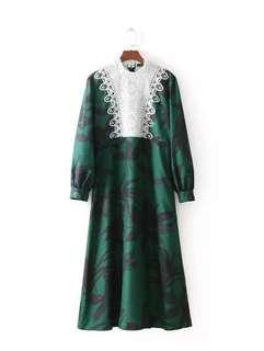 Cocoa Long Dress
