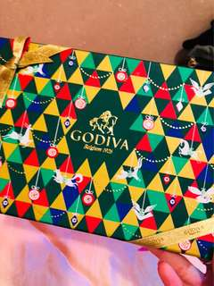 Godiva chocolate pack 15 pcs