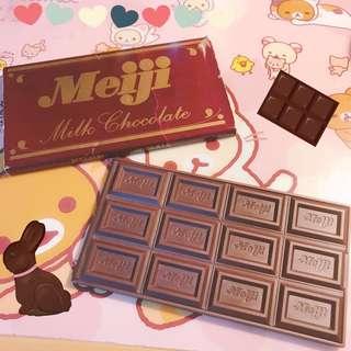 Meiji鏡子 巧克力造型鏡子 折疊鏡