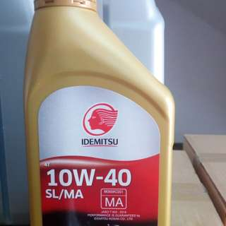 Engine Oil Idemitsu 4T 10W40 Fully Synthetic