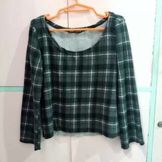 Plaid Black Long Sleeve