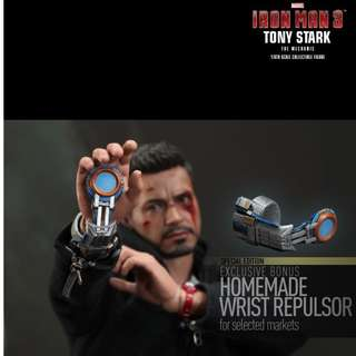 Brand New Special Edition Hot Toys MMS209 Iron Man 3 - Tony Stark The Mechanic Version