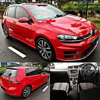 SAMBUNG BAYAR / CONTINUE LOAN  VW GOLF MK7 1.4 TURBO R' BODYKIT