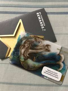 Starbucks Special Edition Siren Card with Load