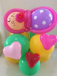 Balloon deco - baby shower/1st birthday