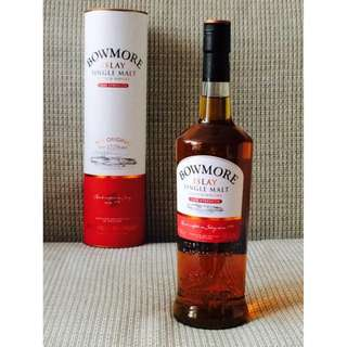 Bowmore Cask Strength Single Malt Whisky - 1 Litre 威士忌