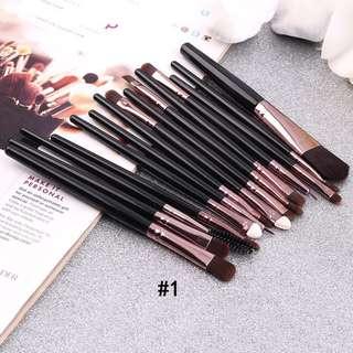 15 buah set make up profesional komplit