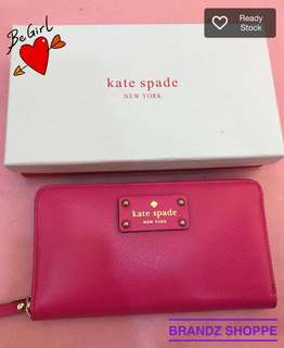 💯% Authentic Kate Spade ♠️ Women Long Wallet / a Purse