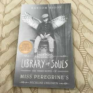 Miss Peregrine's Peculiar Children, Third Novel: Library of Souls