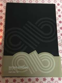 INFINITE Second Invasion 2012 首爾場週邊 筆記本