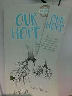 Novel our hope Inesia pratiwi