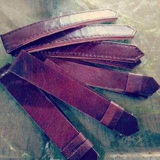 Strap atau tali kulit jam tangan
