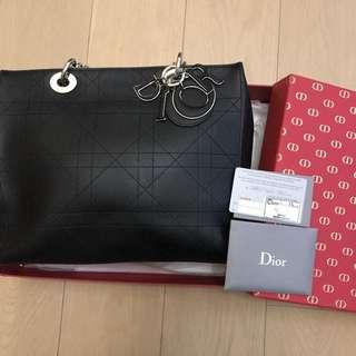 搬屋平讓全場最平‼️全新真品超級名牌Christian Dior Ultra Dior Bag有卡有塵袋連原裝品牌盒