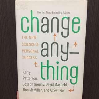 (English Book) Change Anything - The New Science of Personal Success