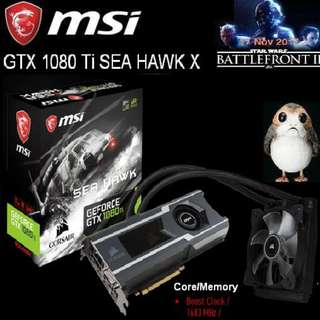 MSI GTX 1080 Ti SEA HAWK X.