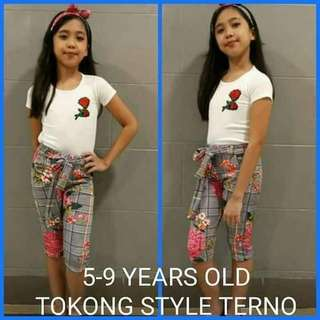 MAR 18 KIDS TERNO / DRESS (DAK)