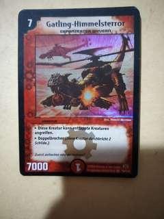 Gatling Skyterror (Duel Master)