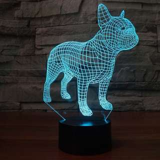 🚚 法國鬥牛犬 小夜燈